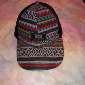 Beautiful Giant Aztec Striped Baseball Cap Hat